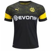 18-19 Borussia Dortmund Away Black Soccer Jersey Shirt picture and image