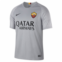 18-19 Roma Away Gray Soccer Jersey Shirt picture and image
