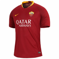 18-19 Roma Home Red Soccer Jersey Shirt(Player Version) picture and image