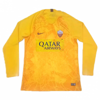18-19 Roma Third Away Yellow Long Sleeve Jersey Shirt picture and image