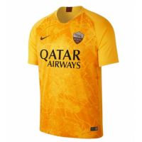 18-19 Roma Third Away Yellow Soccer Jersey Shirt picture and image