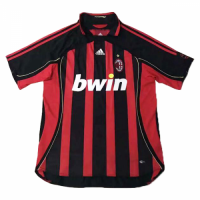 2006 AC Milan Retro Home Red&Black Soccer Jersey Shirt picture and image