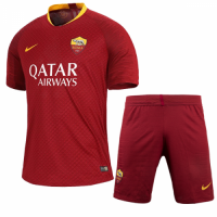 18-19 Roma Home Soccer Jersey Kit(Shirt+Short) picture and image