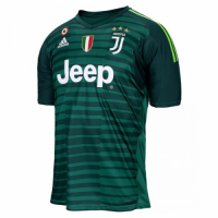 18-19 Juventus Goalkeeper Green Soccer Jersey Shirt picture and image