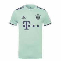 18-19 Bayern Munich Away Mint Green Jersey Shirt picture and image