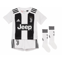 18-19 Juventus Home Children's Jersey Whole Kit(Shirt+Short+Socks) picture and image