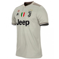 18-19 Juventus Away Gray Soccer Jersey Shirt picture and image