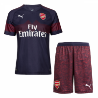 18-19 Arsenal Away Navy Soccer Jersey Shirt picture and image