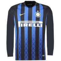 18-19 Inter Milan Home Long Sleeve Jersey Shirt picture and image