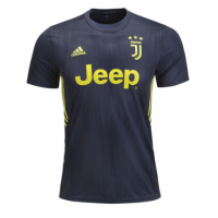 18-19 Juventus Third Away Black Soccer Jersey Shirt(Player Version) picture and image