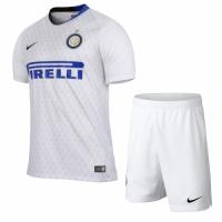 18-19 Inter Milan Away White Soccer Jersey Kit(Shirt+Short) picture and image