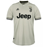 18-19 Juventus Away Gray Soccer Jersey Shirt(Player Version) picture and image