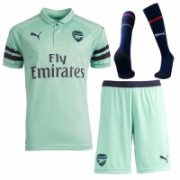 18-19 Arsenal Third Away Green Soccer Jersey Shirt picture and image