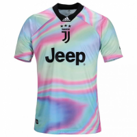 18-19 Juventus EA Sports White Jersey Shirt picture and image