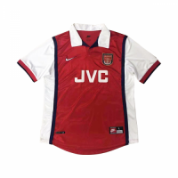 98-99 Arsenal Retro Home Red&White Soccer Jersey Shirt picture and image