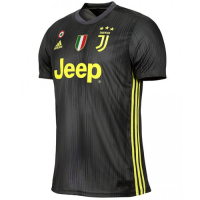 18-19 Juventus Third Away Black Soccer Jersey Shirt picture and image