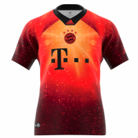 18-19 Bayern Munich EA Sports Brown Jersey Shirt picture and image