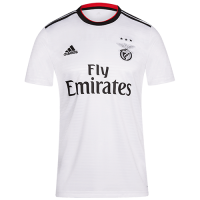 18-19 Benfica Away White Soccer Jersey Shirt picture and image
