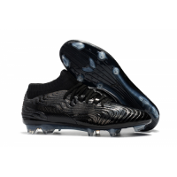 PM One 18.1 Syn FG Soccer Cleats-All Black picture and image
