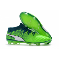 PM One 18.1 Syn FG Soccer Cleats-Fluorescent Green picture and image