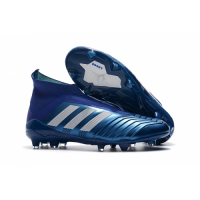 AD Predator 18+ without latchet FG boots-Blue picture and image