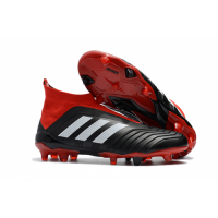 AD Predator 18+ without latchet FG boots-Red&Black picture and image