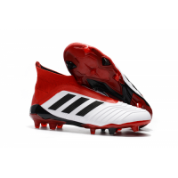 AD Predator 18+ without latchet FG boots-Red&White picture and image
