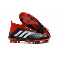 AD Predator 18+ FG boots-Red&Black picture and image