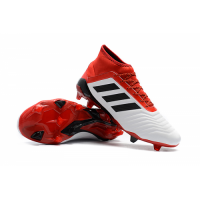 AD Predator 18+ FG boots-Red&White picture and image