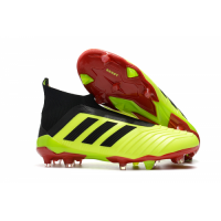 AD Predator 18+ without latchet FG boots-Fluorescent Green picture and image