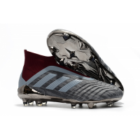 AD Paul Pogba Predator 18+ Without Latchet FG-Gray&Red picture and image