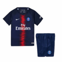 18-19 PSG Home Navy Children's Jersey Kit(Shirt+Short) picture and image