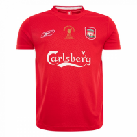 2005 Liverpool Champion League Red Retro Jersey Shirt picture and image