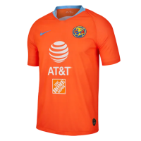 2019 Club America Third Away Orange Soccer Jerseys Shirt picture and image